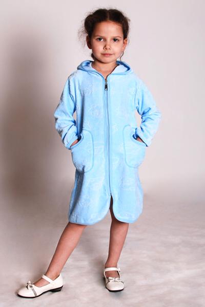 детский халат на молнии выкройка
